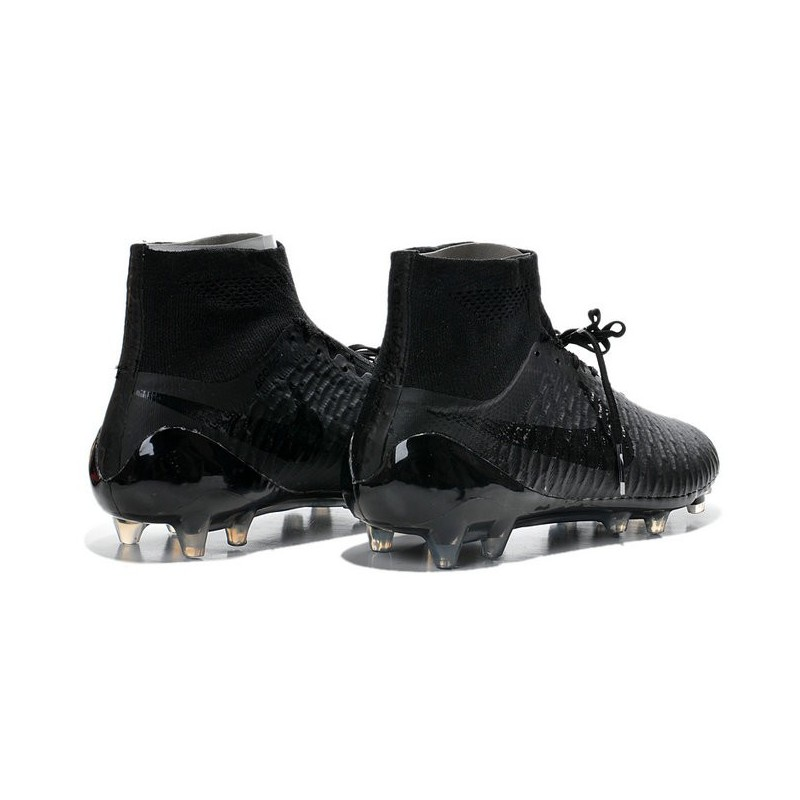 crampons pas cher 2015 nike magista obra fg acc tout noir. Black Bedroom Furniture Sets. Home Design Ideas