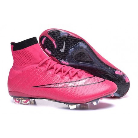 huge discount e5e16 84bf0 Chaussure de Football Nouvel 2015 Nike Mercurial Superfly FG ACC Hyper Rose