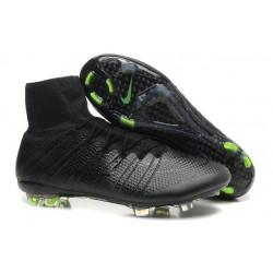 Nike Chaussures Nouvelle Mercurial Superfly FG Homme Tout Noir