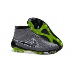 Nouveaux Chaussures 2015 Nike Magista Obra FG ACC Gris Noir