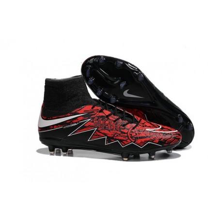 Nouveaux Chaussure Robert Lewandowski Nike Hypervenom Phantom 2 FG Rouge Noir