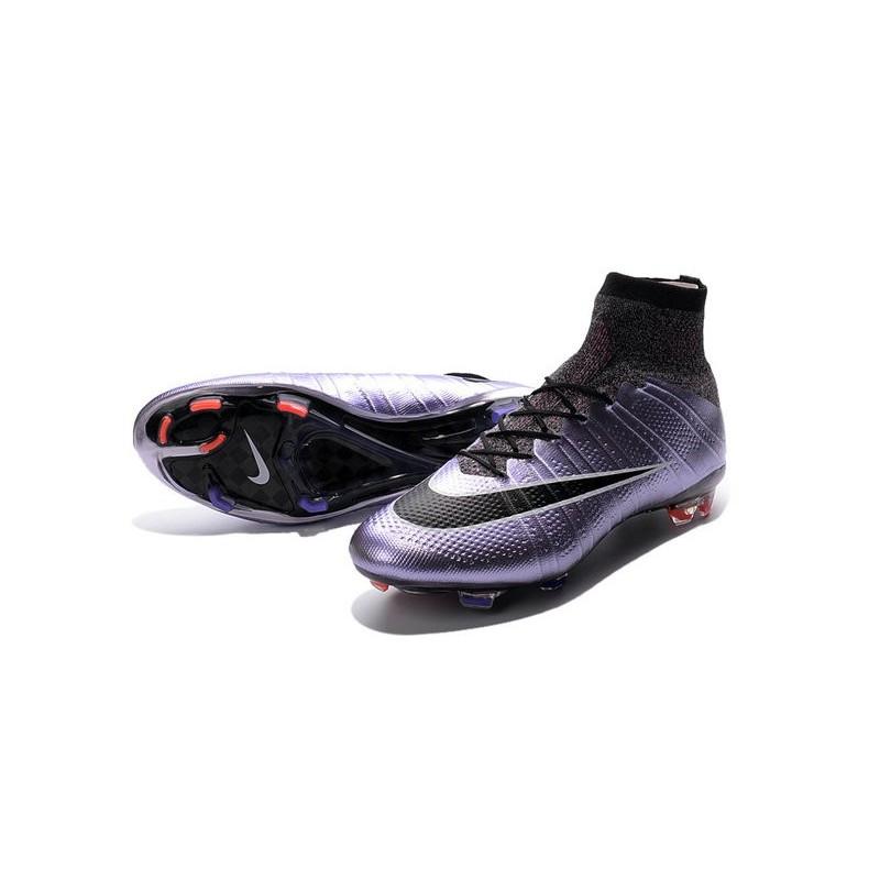 Cristiano Ronaldo Chaussure Nike Lilas Mercurial Superfly Iv FG Lilas Nike 669b0a