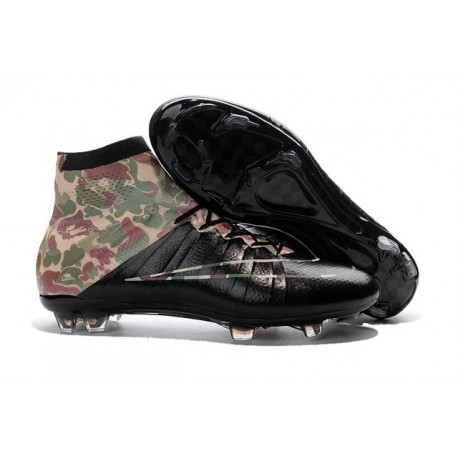 Nouvelles 2016 Crampon Nike Mercurial Superfly FG Camouflage Noir