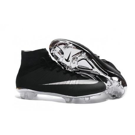 Nouvelles 2016 Crampon Nike Mercurial Superfly FG Noir Argent