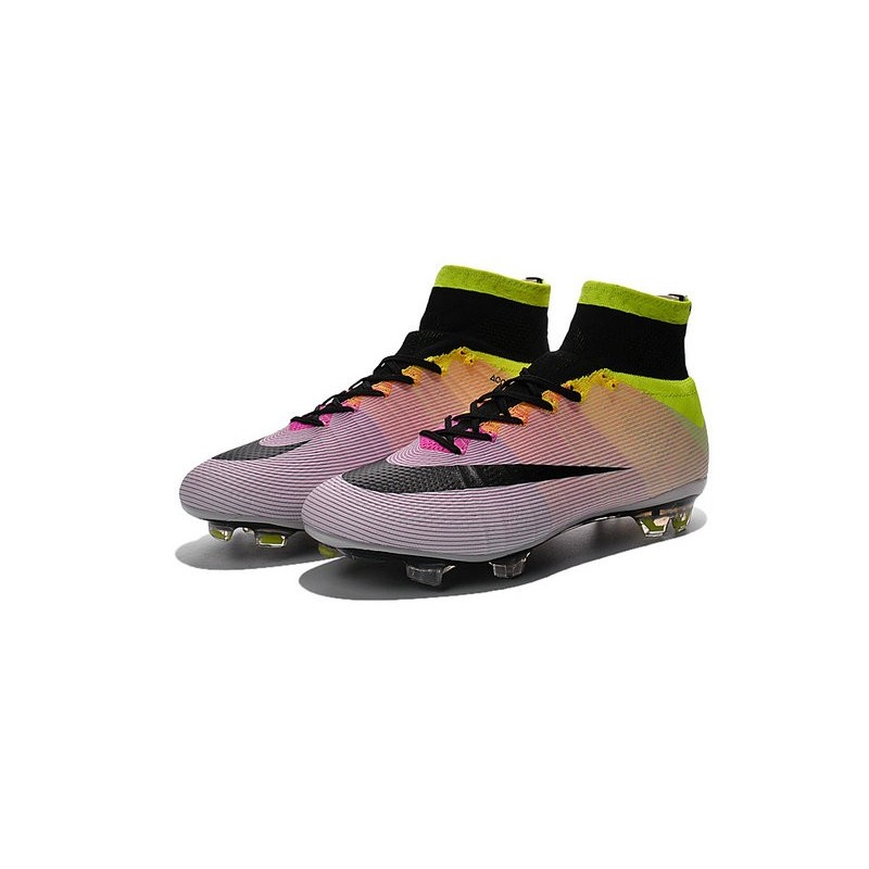 taille 40 9fd13 eed02 Nouvelles 2016 Crampon Nike Mercurial Superfly FG Blanc ...