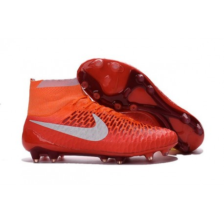 Nouveauté Chaussure 2016 Nike Magista Obra FG ACC Rouge Blanc