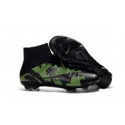 Chaussure Football Nouveaux Nike Mercurial Superfly FG ACC Camo Vert Noir