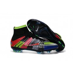 "Chaussure Football Nouveaux Nike Mercurial Superfly FG ""What The Mercurial"" Coloré"