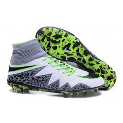 Nouveaux Chaussure Nike Hypervenom Phantom 2 FG Blanc Noir Vert
