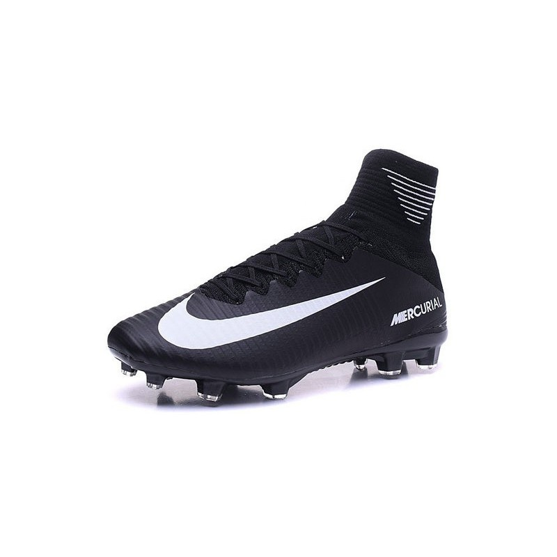 prix le plus bas 63880 e45bb Nouvelles 2016 Chaussures Nike Mercurial Superfly V FG Noir ...