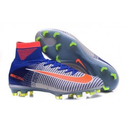 Crampons Spark Brilliance 2016 Nike Mercurial Superfly 5 FG ACC Bleu Noir Orange