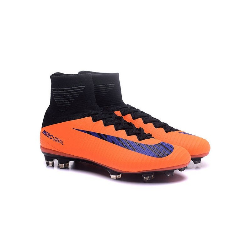 Nike Mercurial Superfly V FG Homme Nouvel 2016 Chaussure