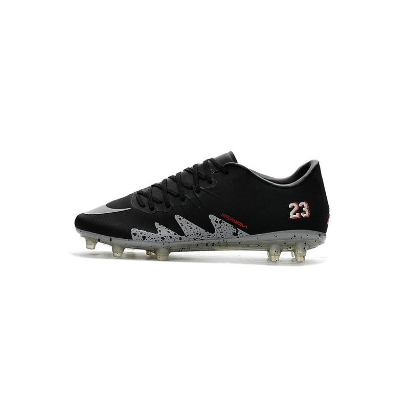 premium selection a59ef ba1fc Nike Hypervenom Phinish Neymar x Jordan Chaussures de Football Noir Argent  Zoom. Précédent. Suivant
