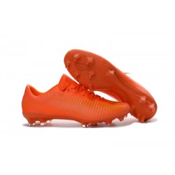 Nike Crampon Football Mercurial Vapor 11 FG ACC Tout Orange