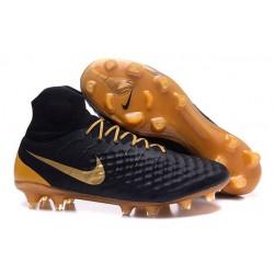Nike Magista Obra II FG Meilleur Crampon Football Noir Or