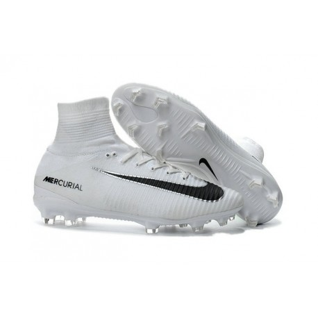 competitive price 0bc08 50f03 V Homme Noir Foot Chaussure Mercurial Nike Fg De Blanc Superfly RWpwqOB