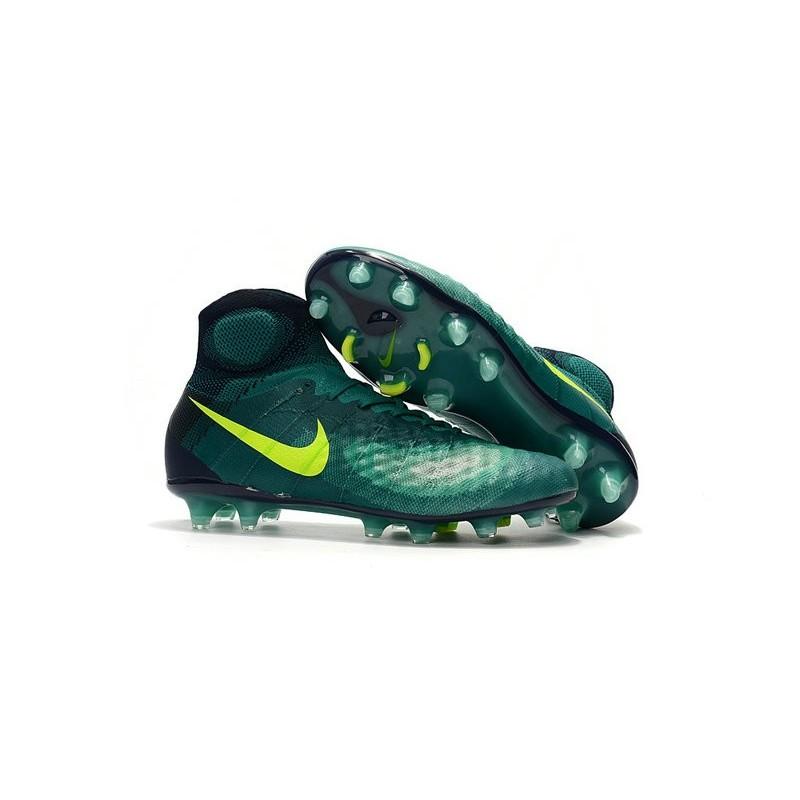 Foot Chaussures Jaune Nouvelles Nike Ii Fg De Magista Obra Vert cALq543RjS