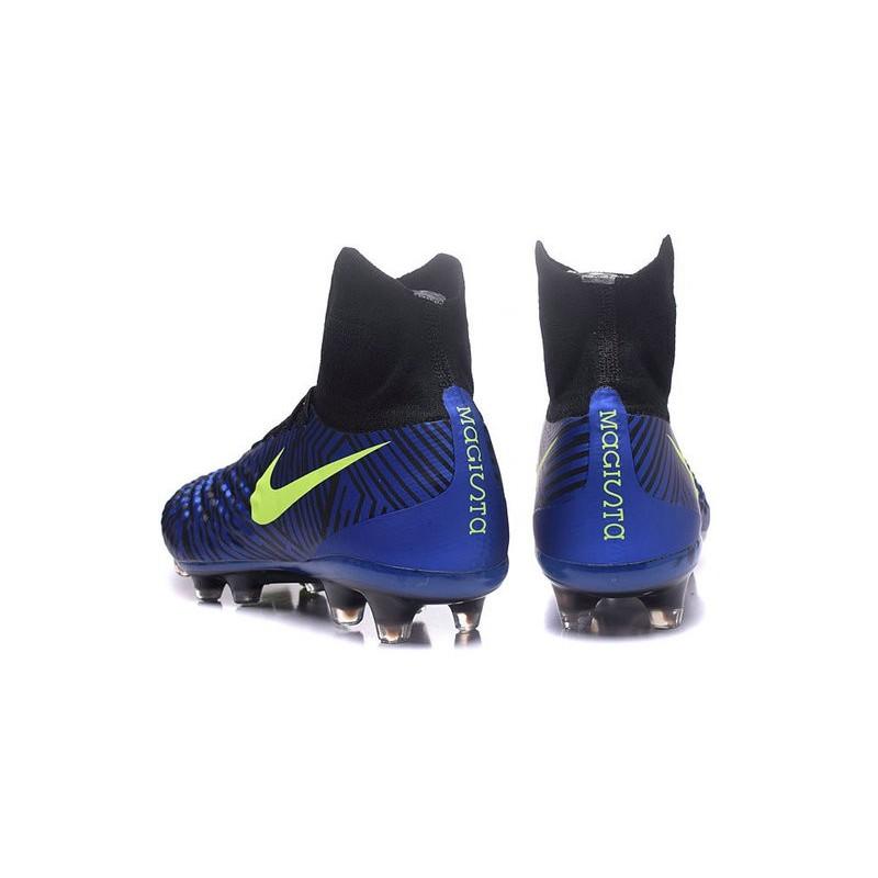 new concept 442de 8c0a8 Meilleur Nike Magista Obra 2 FG Crampon Football Homme Bleu Noir Volt Zoom.  Précédent · Suivant