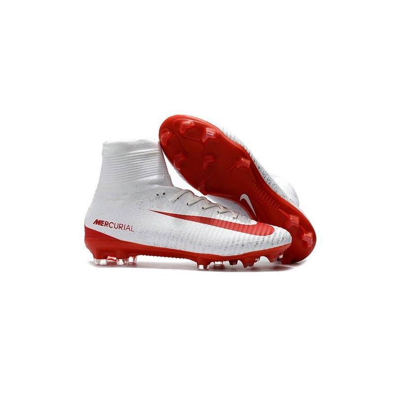 V De Blanc Chaussure Superfly Fg Rouge Foot Nike Mercurial Homme uTJc1lK3F5