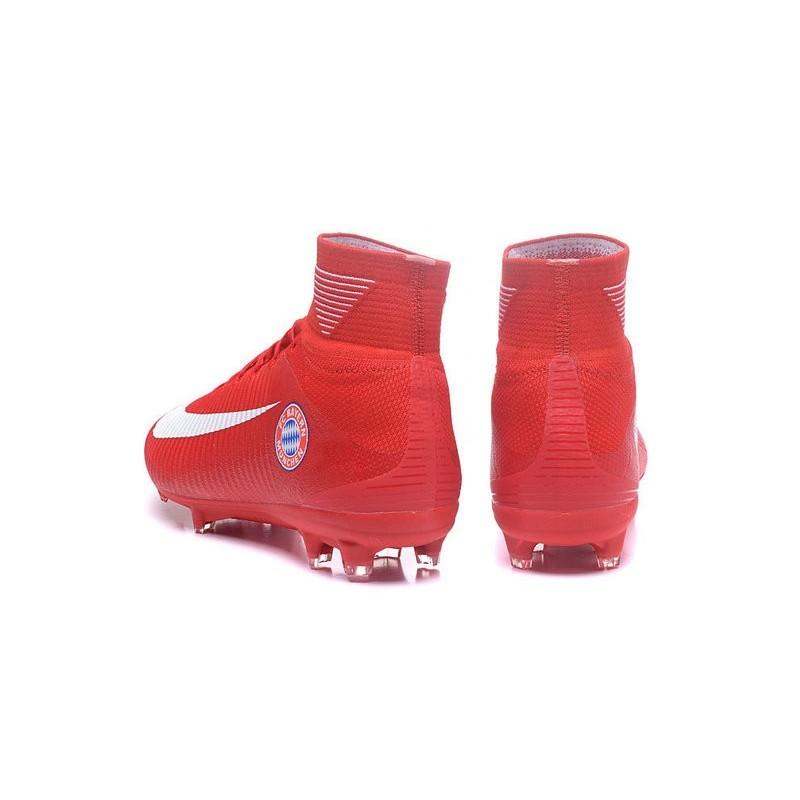 De Nike Fc Bayern Fg Foot Chaussure München Mercurial V Rouge F1lTJKc