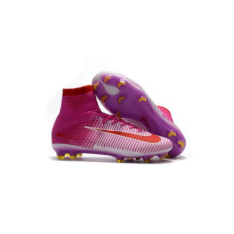 Foot Chaussure De Nike Rose 5 Acc Superfly Fg Nouvelles Rouge Mercurial y80vwmNOn