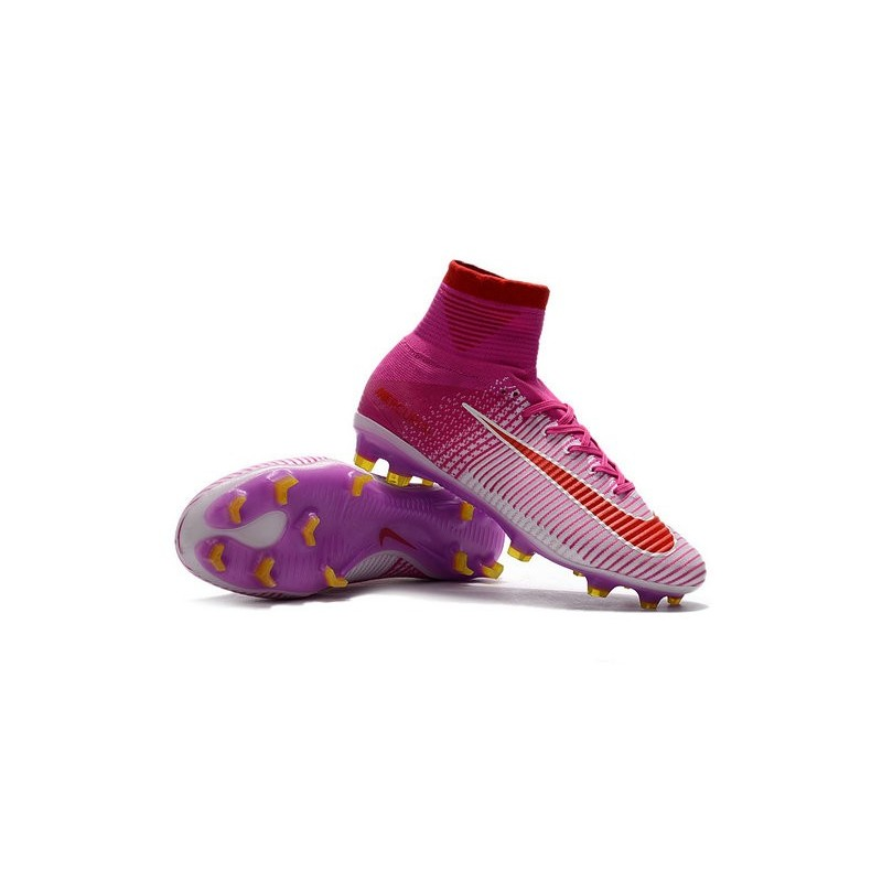 Rouge Acc 5 De Fg Nouvelles Mercurial Nike Foot Superfly Chaussure Wf411OqTY