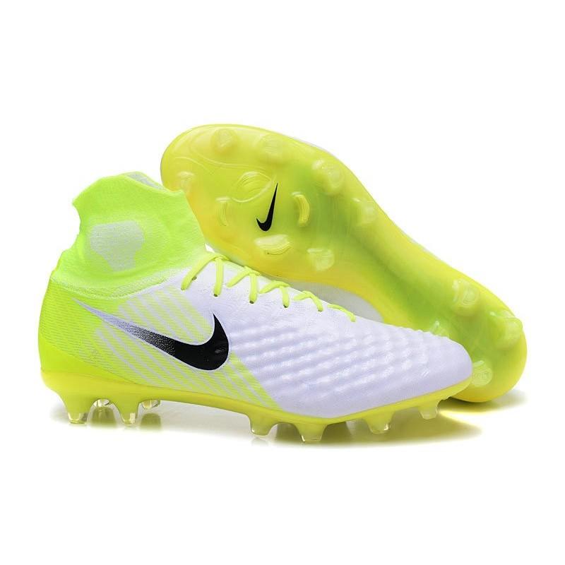 online store 670cf b2e5f Nike Magista Obra II FG Nouveaux Chaussure de Foot Blanc Volt Zoom.  Précédent · Suivant