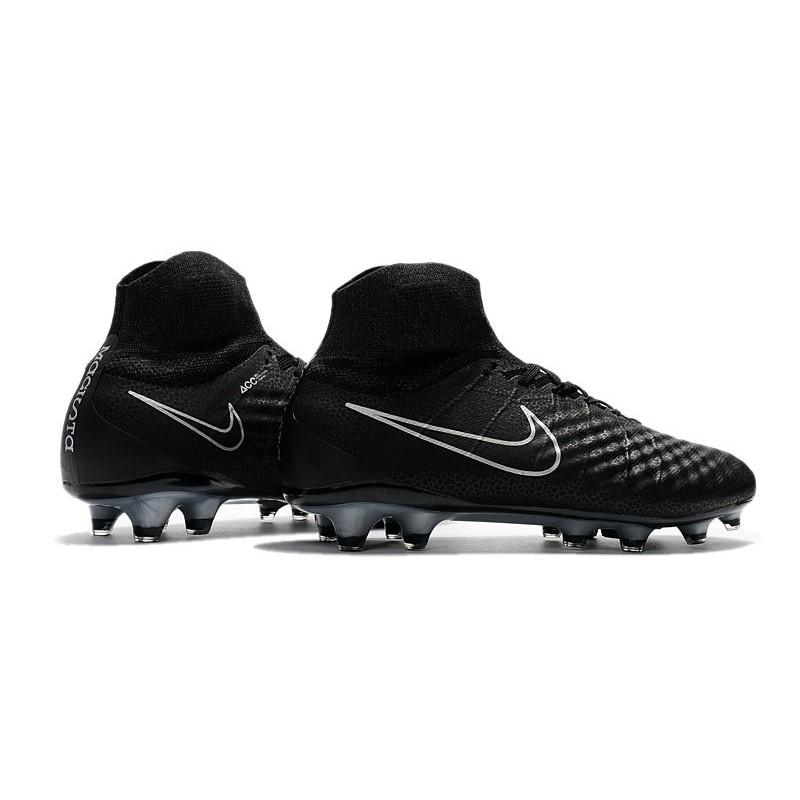 reputable site 2f679 3eb97 Nike Magista Obra II FG Nouveaux Chaussure de Foot Noir Argent Zoom.  Précédent. Suivant