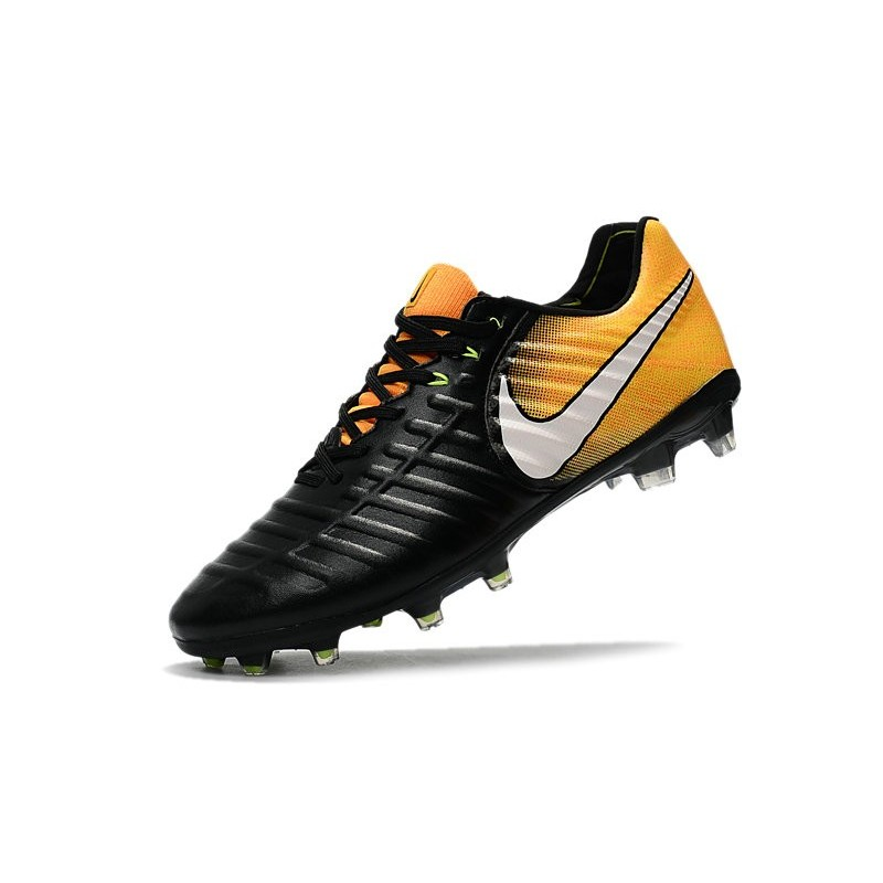 De Noir Jaune Legend Chaussures Acc Nike Vii Football 2017 Fg Tiempo 5AR4Lj