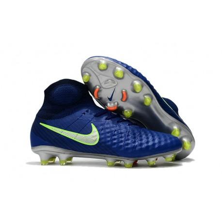 Nike Crampons de Football Magista Obra 2 FG ACC Bleu