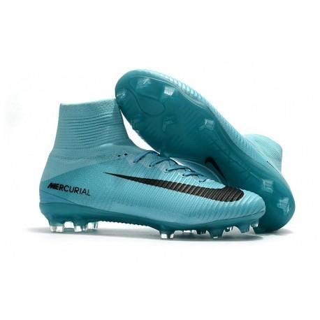 Fg Bleu Noir Foot 5 Chaussure De Neuf Mercurial Nike Superfly QrdxshCtB