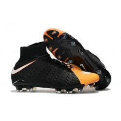 Crampons 2017 Nike Hypervenom Phantom III Dynamic Fit FG ACC Noir Orange