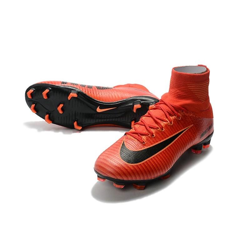 huge selection of ecafa 0519d Nike Mercurial Superfly V FG ACC Crampons Football - Rouge Noir Zoom.  Précédent · Suivant