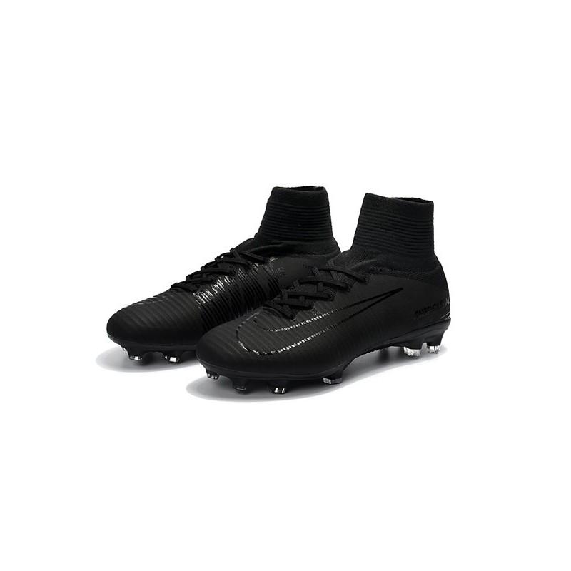 the latest 1898d 17a5c Chaussure de Foot Nike Mercurial Superfly 5 DF FG - Tout Noir