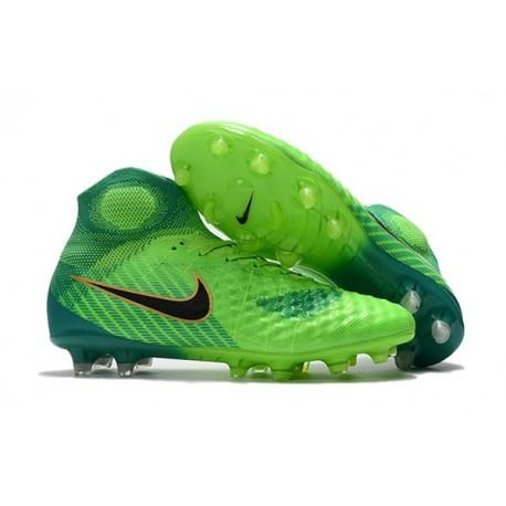 Nike Crampons de Football Magista Obra 2 FG ACC Vert Noir