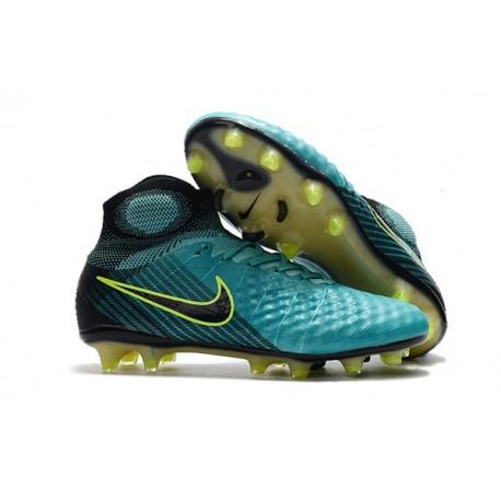Nike Crampons de Football Magista Obra 2 FG ACC Bleu Noir
