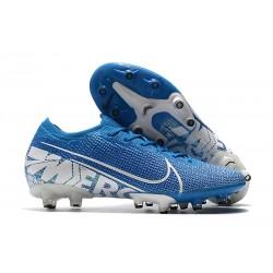 Chaussures Nike Mercurial Vapor XIII Elite AG- Bleu BlancPRO
