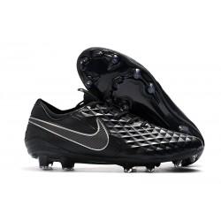 Chaussures Nike Tiempo Legend VIII Elite FG Noir
