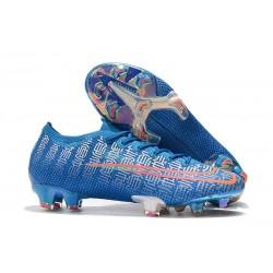 Nike Crampons Mercurial Vapor XIII ELITE FG Shuai Bleu Rouge