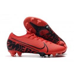 Nike Crampons Mercurial Vapor XIII ELITE FG Rouge Noir