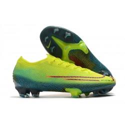 Nike Mercurial Vapor 13 ELITE FG Citron Noir Vert