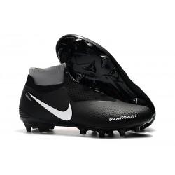 Nike Phantom Vision Elite DF FG Noir Carmin