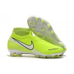 Nike Chaussure Phantom VSN Elite DF FG Volt Blanc