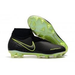 Nike Chaussure Phantom VSN Elite DF FG Noir Volt