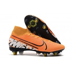 Nike Mercurial Superfly VII Elite SG-Pro Orange Blanc