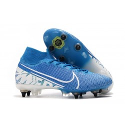 Nike Mercurial Superfly VII Elite SG-Pro New Lights Bleu Blanc