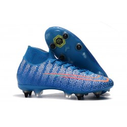 Nike Mercurial Superfly VII Elite SG-Pro Bleu Rouge