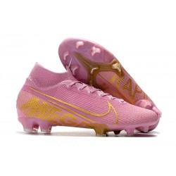Crampons Nike Mercurial Superfly 7 Elite FG Rose Or