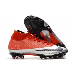 Nike Mercurial Superfly VII Elite DF FG Future DNA Rouge Argent