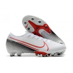 Chaussures Nike Mercurial Vapor XIII Elite AG-PRO Blanc Cramoisi